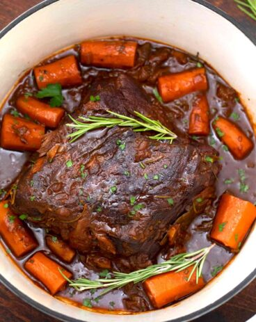 Red Wine Pot Roast