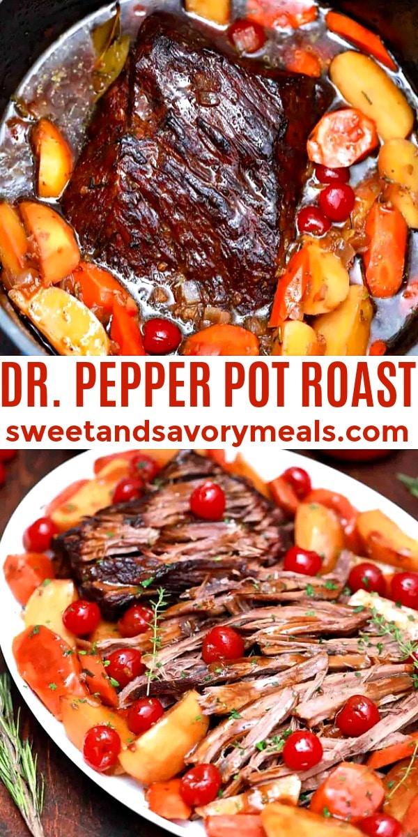 easy dr. pepper pot roast pin