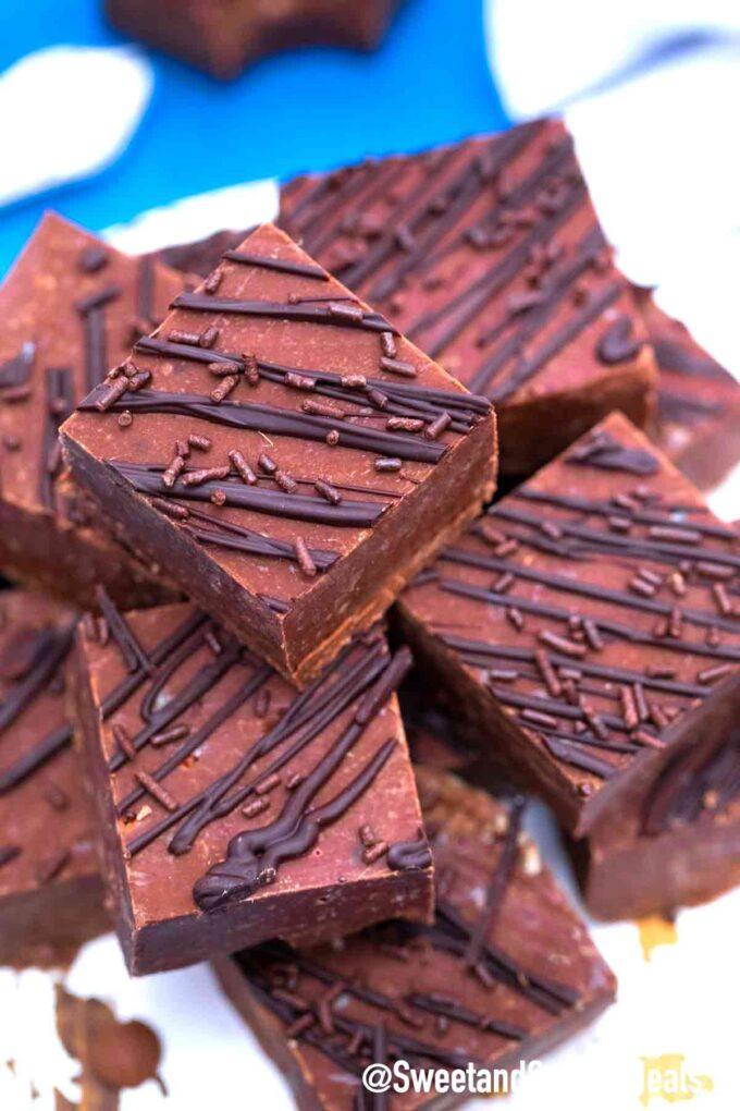 Schokoladen Toffee