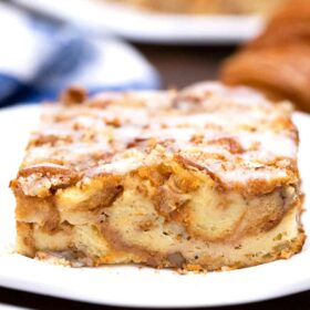 Croissant French Toast Casserole