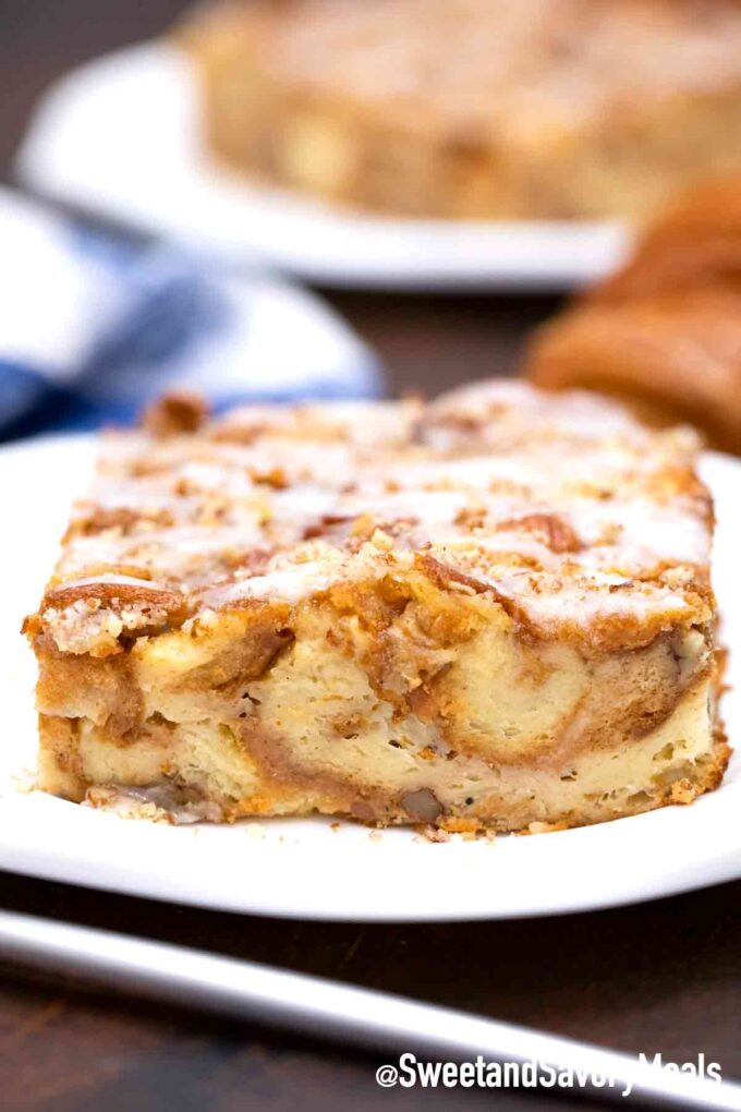 Croissant French Toast Auflauf