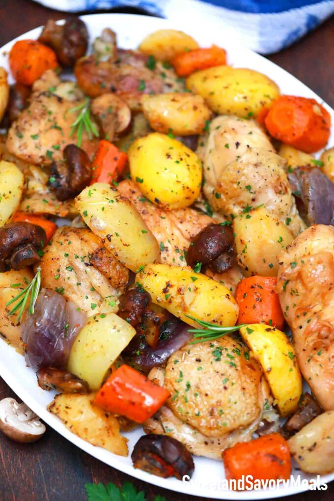 pressure cooker chicken and vegetables