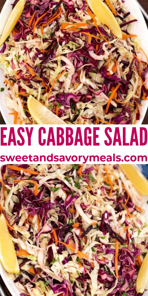 easy cabbage salad pin