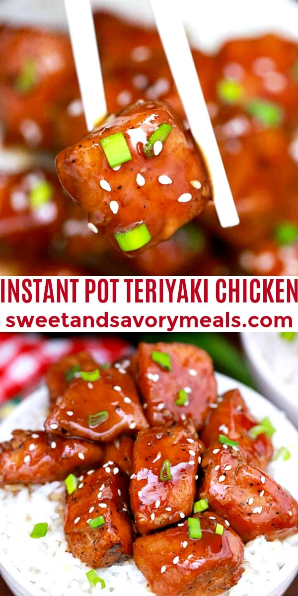 easy instant pot teriyali chicken pin
