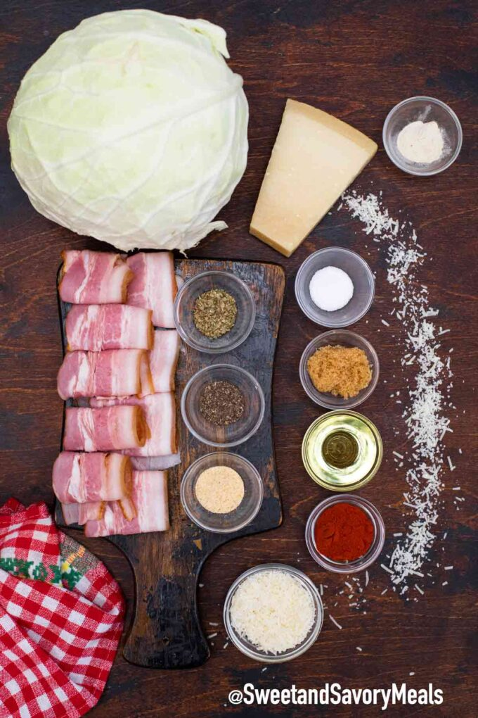 bacon cabbage dippers ingredients