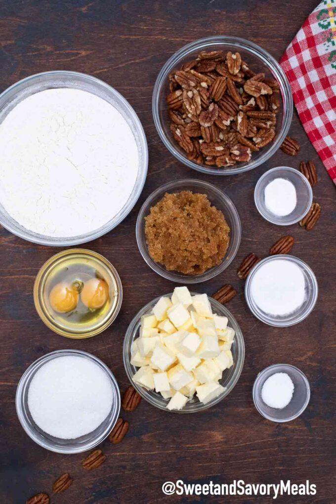 butter pecan cookies ingredients