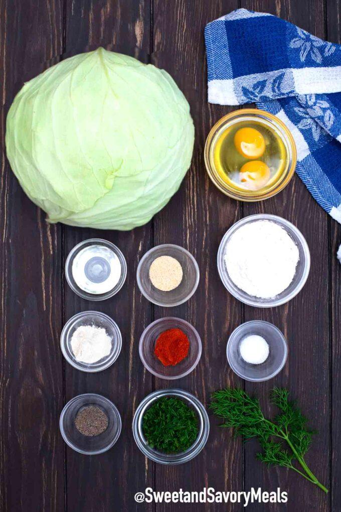 cabbage pancake ingredients