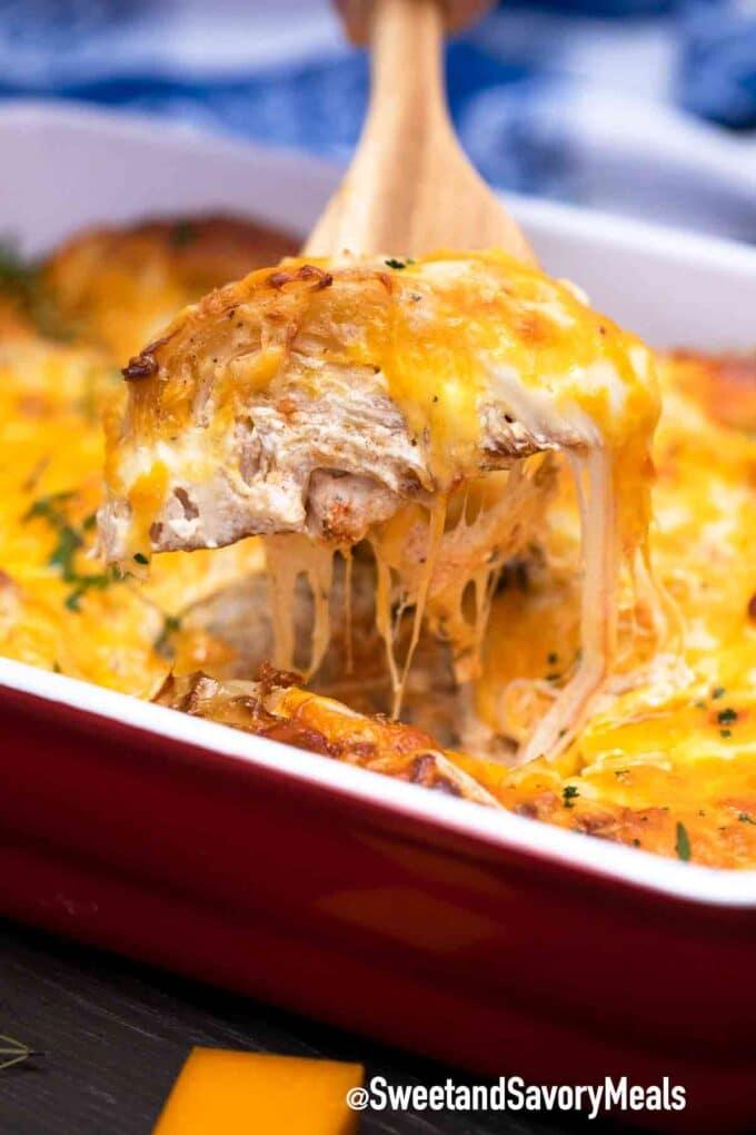 cheesy cabbage gratin