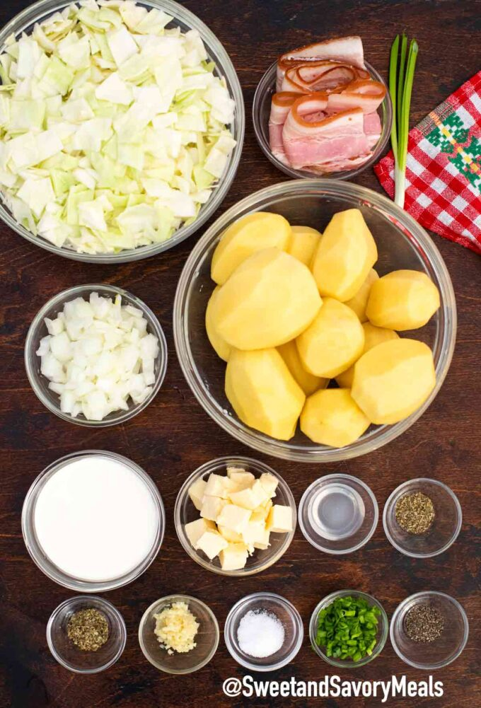 colcannon recipe ingredients