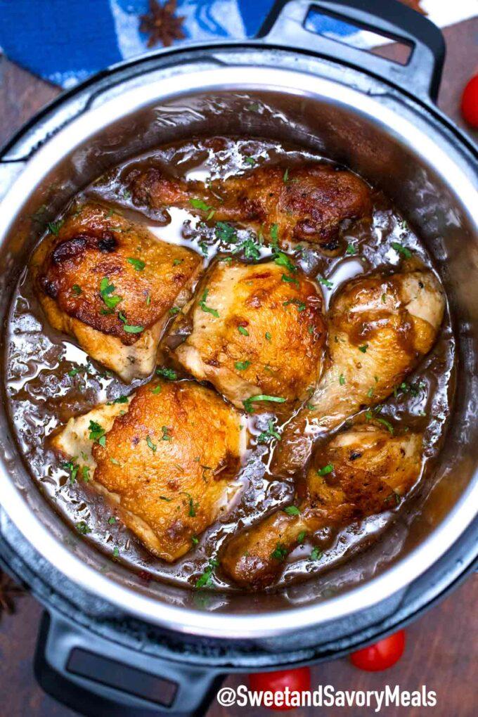 instant pot balsamic chicken