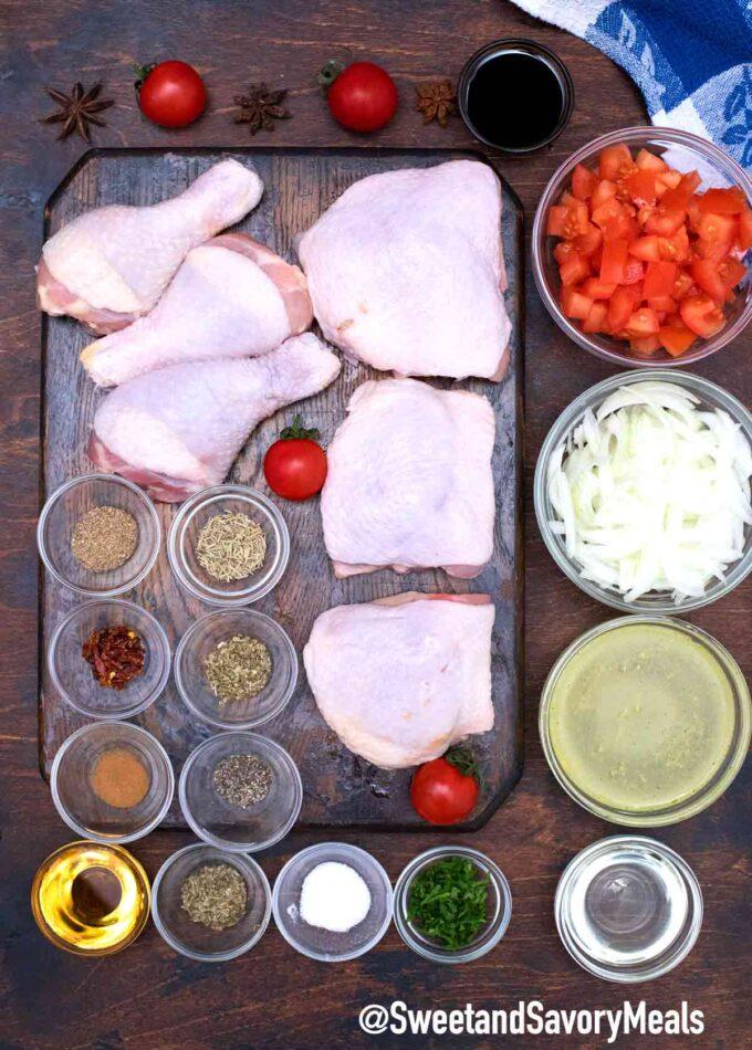 instant pot balsamic chicken ingredients