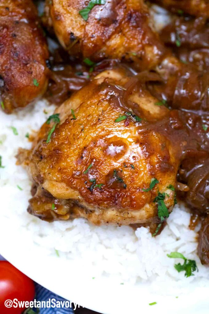 instant pot balsamic chicken thighs