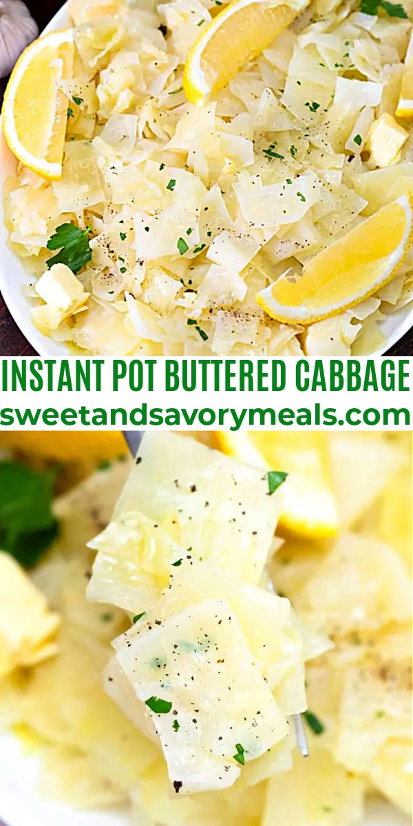 easy instant pot butteres cabbage pin
