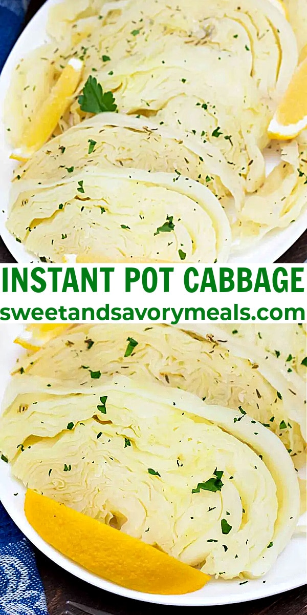 easy instant pot cabbage pin