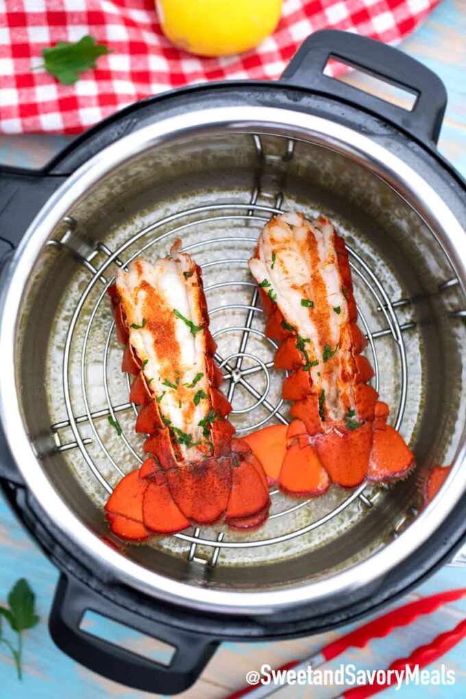 lobster tails in the instant pot