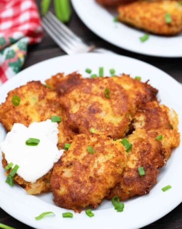 Loaded Mashed Potato Pancakes