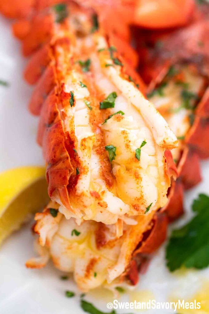 pressure cooker lobster tails