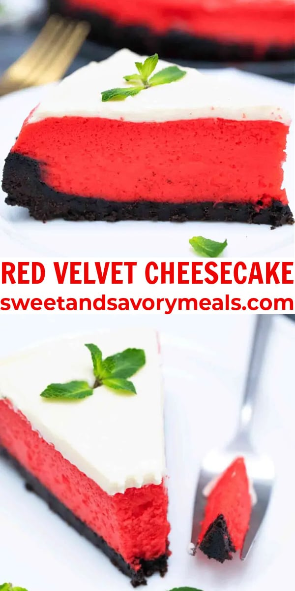easy red velvet cheesecake pin