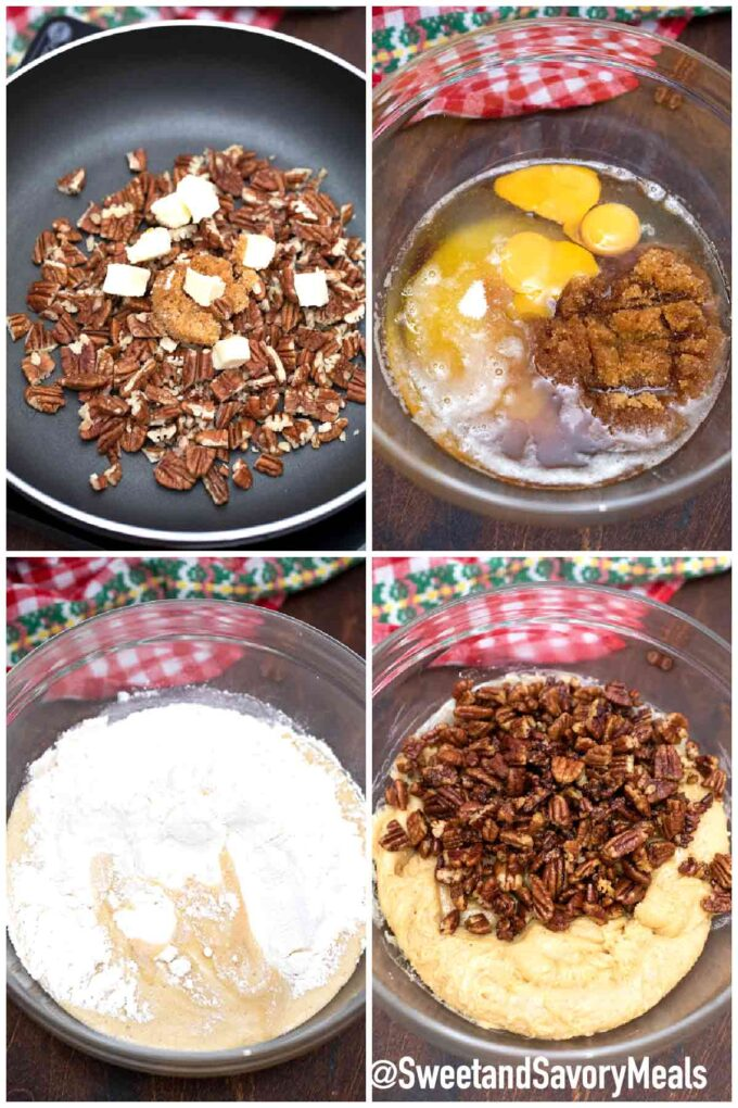 steps how to make butter pecan cookies