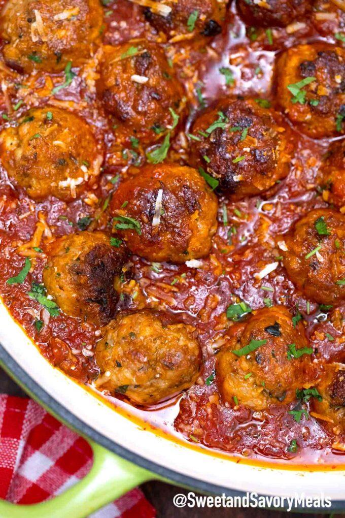 turkey meatballs in sauce