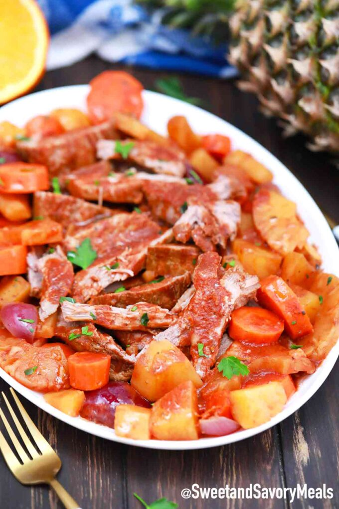 carribean pot roast