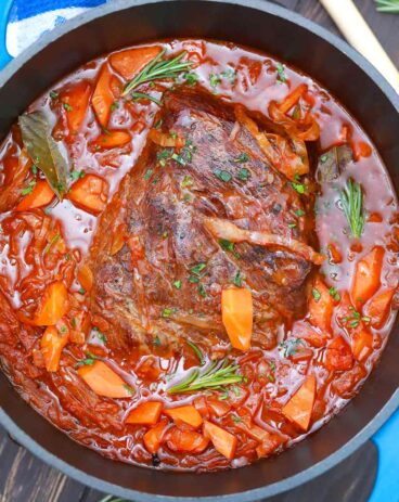 German Pot Roast with Cabbage