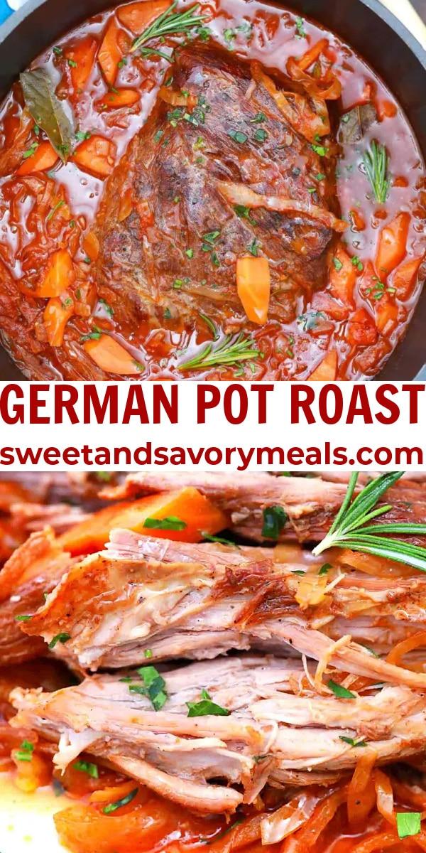 easy german pot roast pin