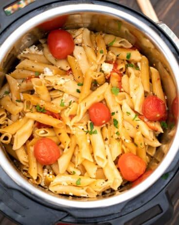 Instant Pot Feta Pasta Recipe