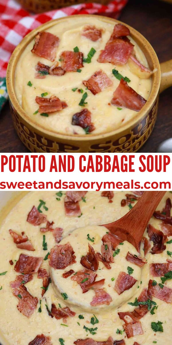 easy potato and cabbage soup pin