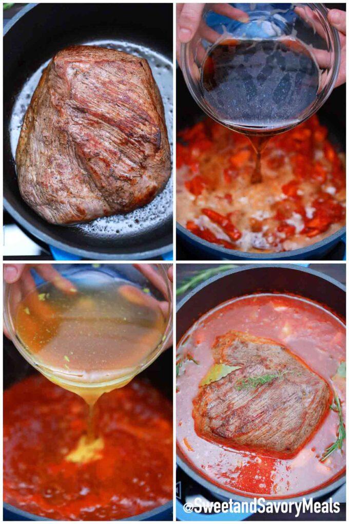 steps how to make German pot roast