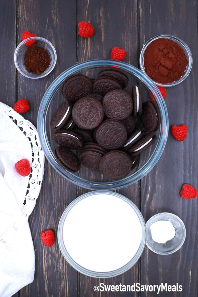no oven chocolate cake ingredients