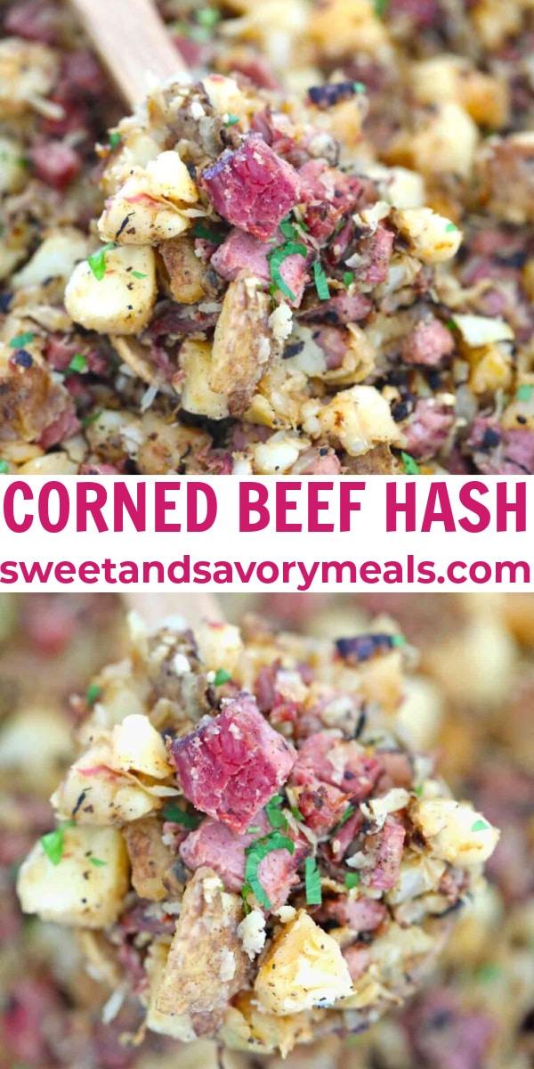 easy corned beef hash pin