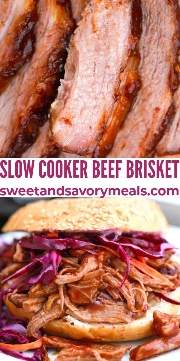easy slow cooker beef brisket pin