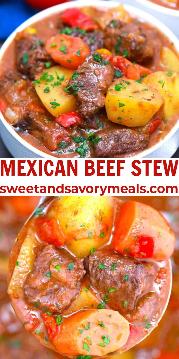 easy mexican beef stew pin