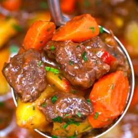 Mexican chipotle beef stew