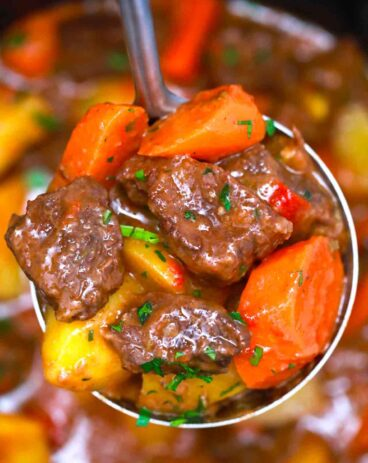Slow Cooker Chipotle Beef Stew