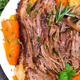 Guinness pot roast with veggies