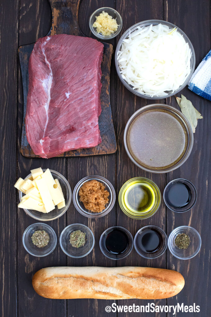 instant pot French dip sandwiches ingredients