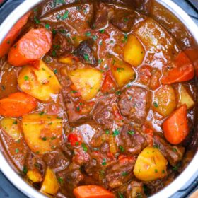 instant pot Mexican beef stew