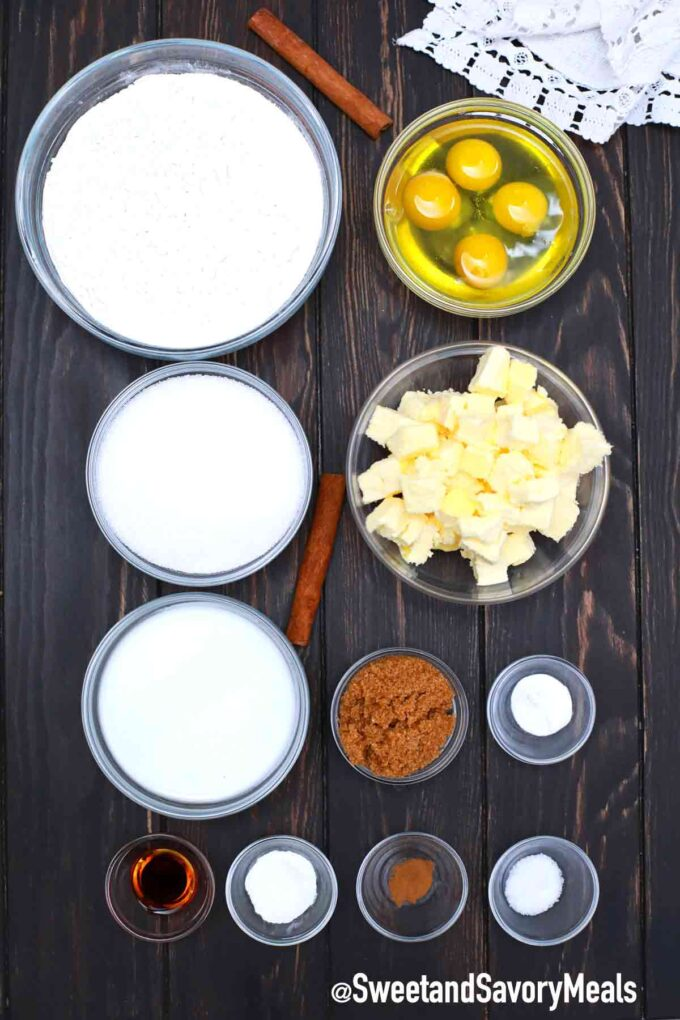 Kentucky butter cake ingredients