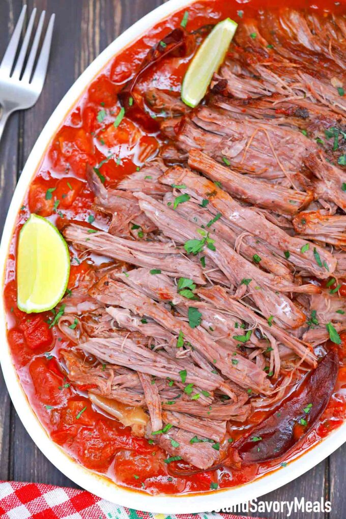 shredded Mexican pot roast