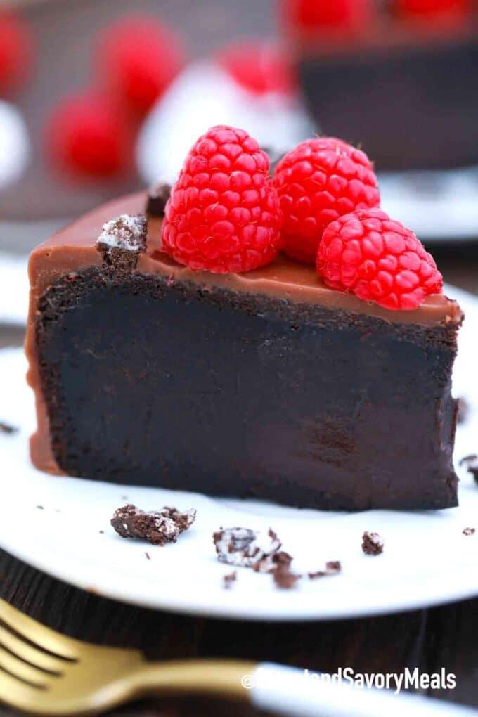 5 ingredient chocolate cake