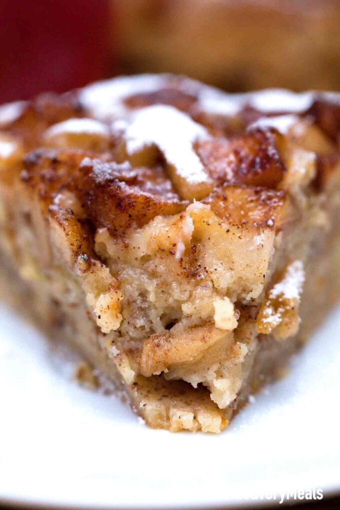 instant pot apple cake inside