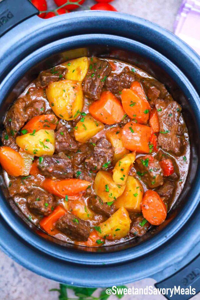 crockpot chipotle beef stew