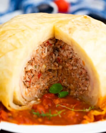 Stuffed Whole Cabbage