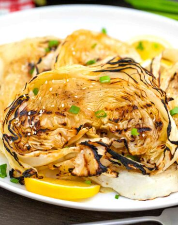Teriyaki Cabbage Steaks