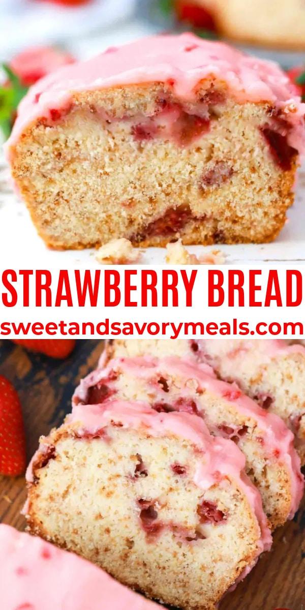 easy strawberry bread pin