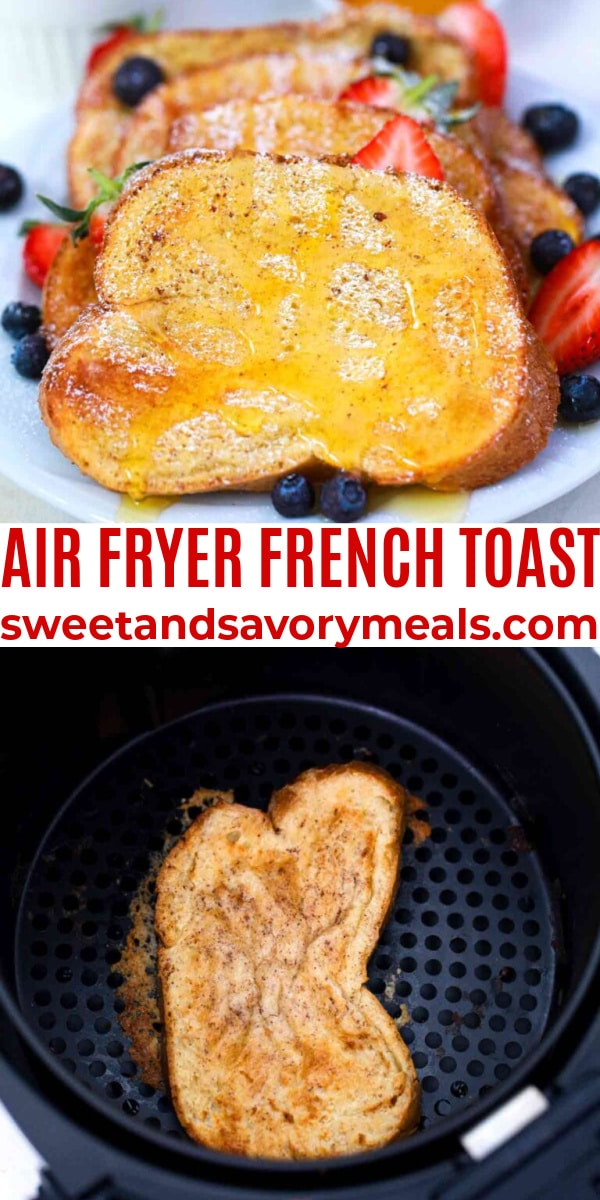 easy air fryer french toast pin