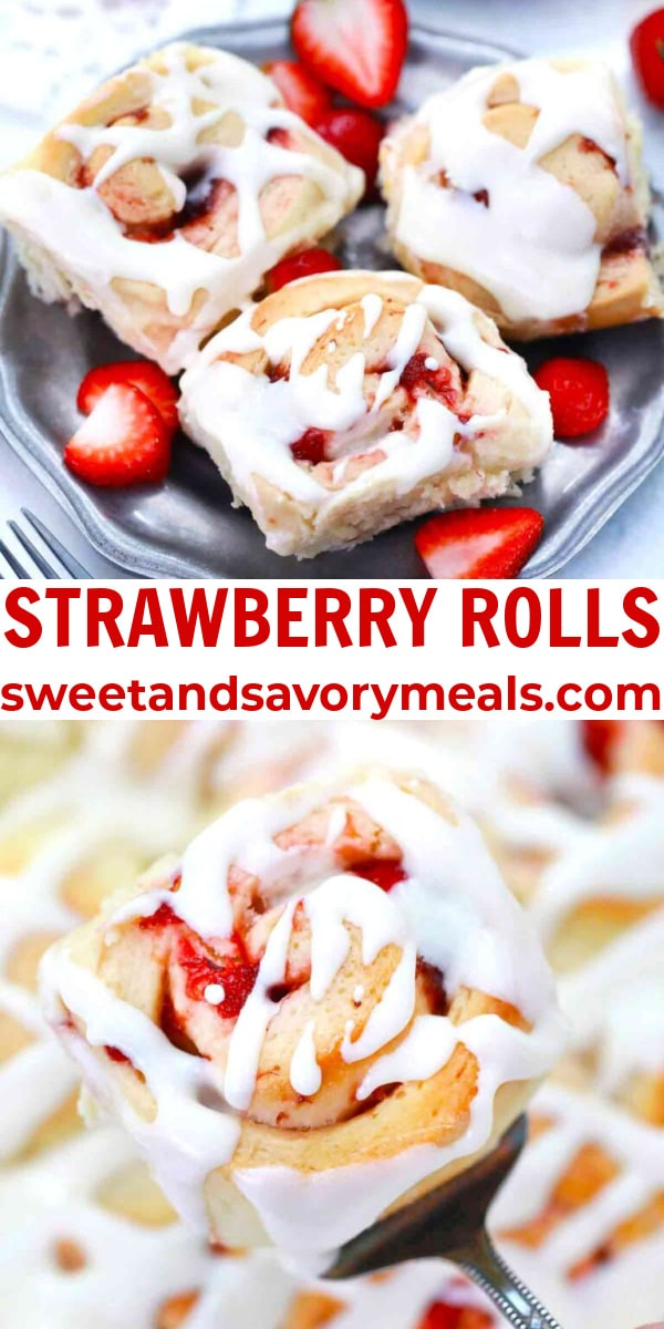 easy strawberry rolls pin
