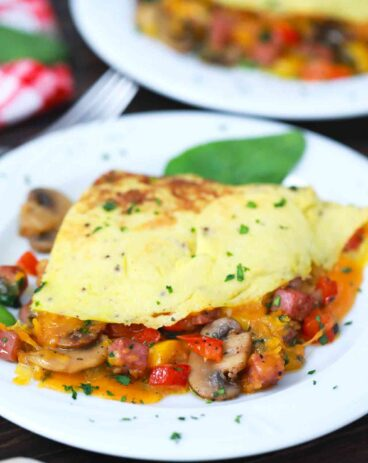 Homemade Omelette Recipe